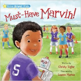 Must Have Marvin Book Giveaway
