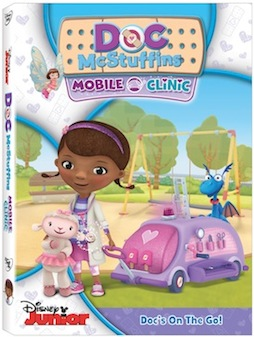 Doc McStuffins: Mobile Clinic DVD Giveaway
