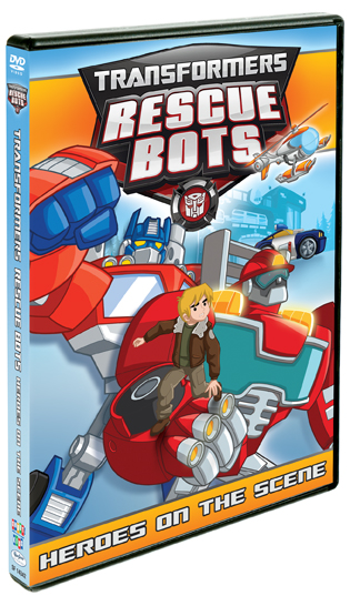 Transformers: Rescue Bots Heroes on the Scene Giveaway