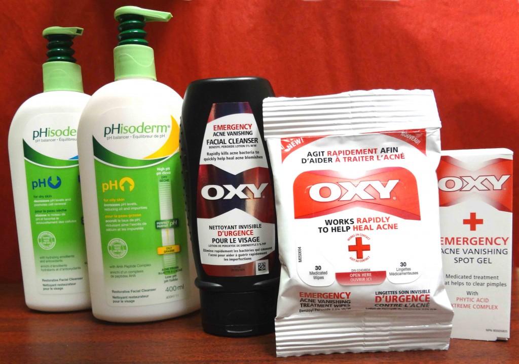Introducing Oxy Emergency Vanishing Treatment Wipes