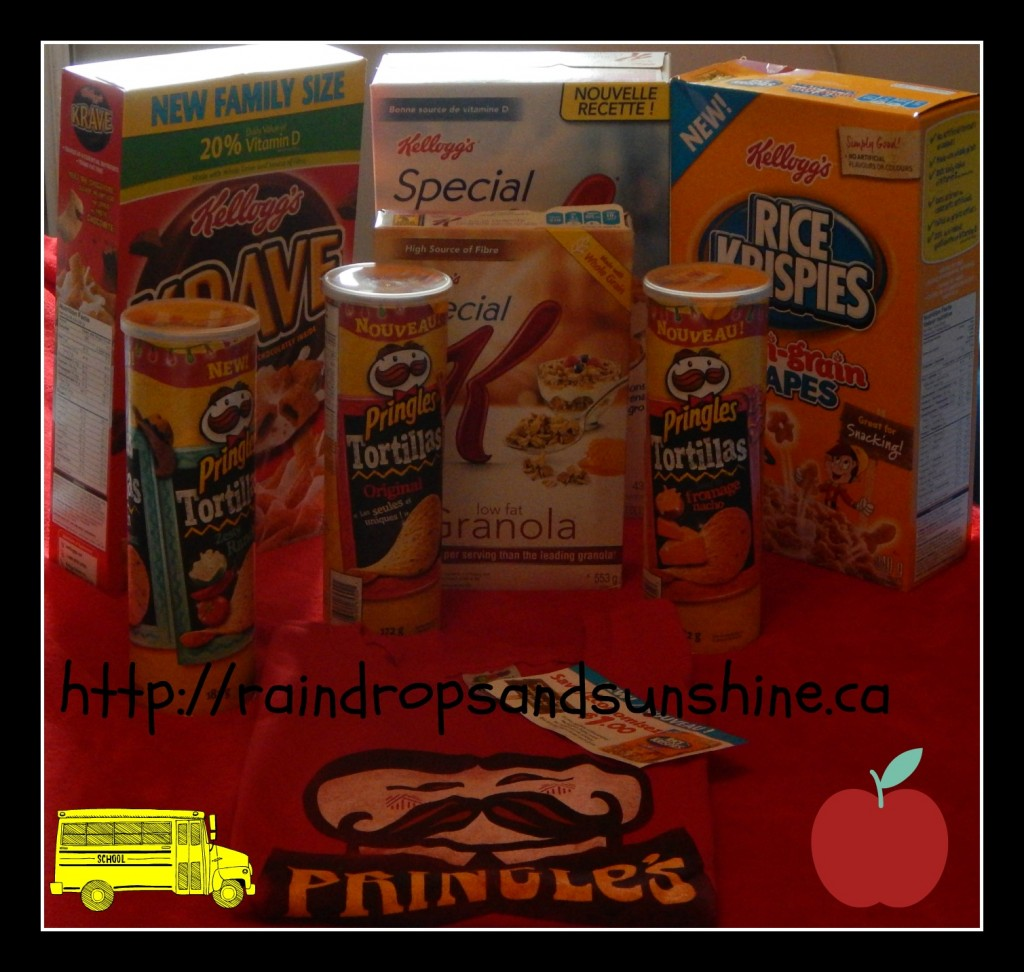 Introducing Kellogg's Canada latest Products & Giveaway