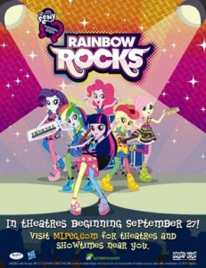 Rainbow Rocks Poster