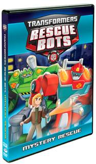 Transformers Rescue Bots: Mystery Rescue DVD Review