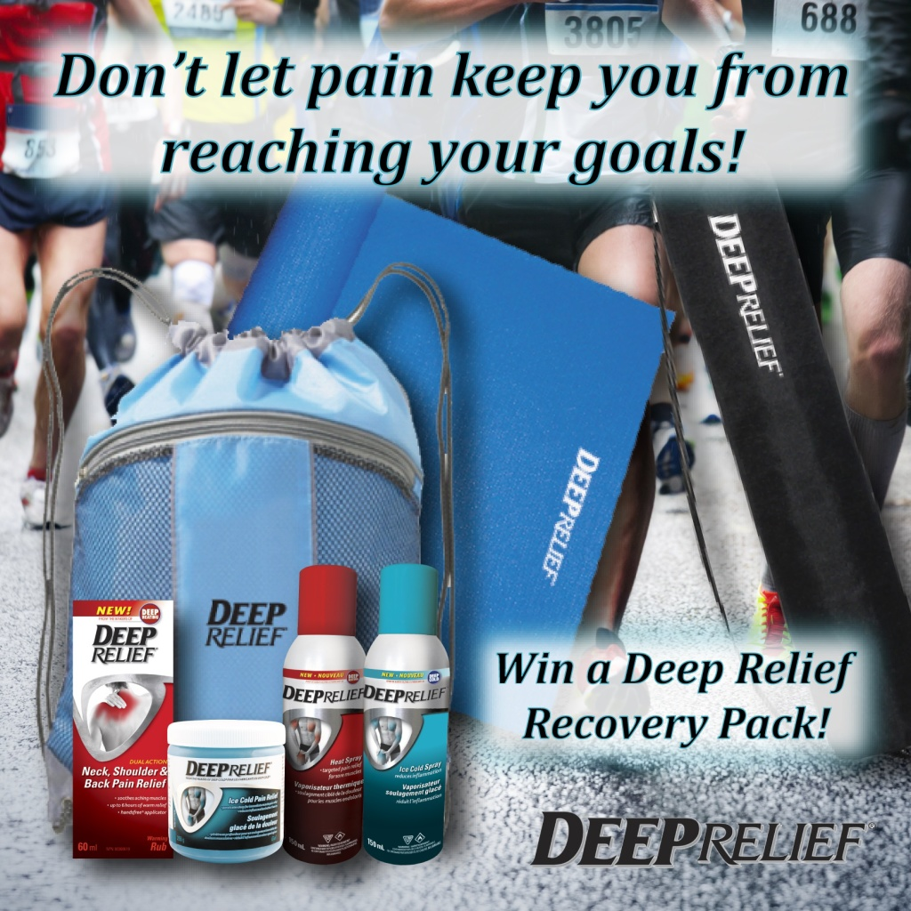 Deep Relief Helping You Reach Your Goals Giveaway