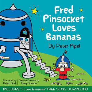Fred Pinsocket Loves Bananas Book Review