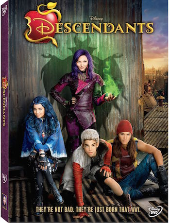 Disney's Descendants Newly Released On DVD