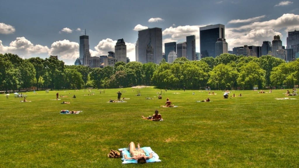 Five Best Sunbathing Spots in #NYC