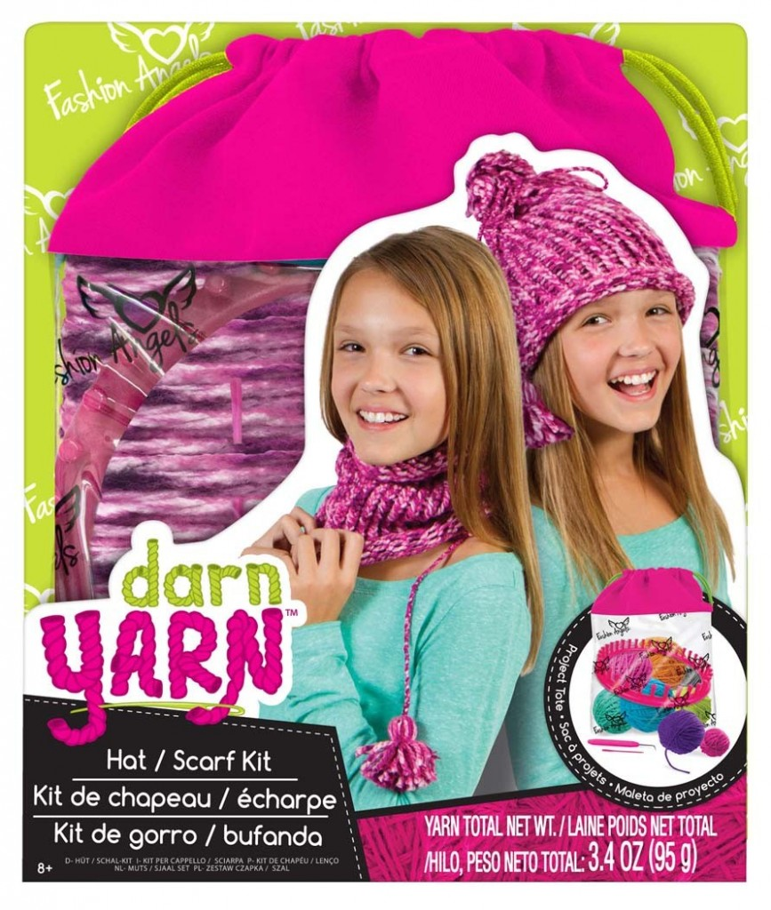 Fashion Angels Darn Yarn #GiftGuide