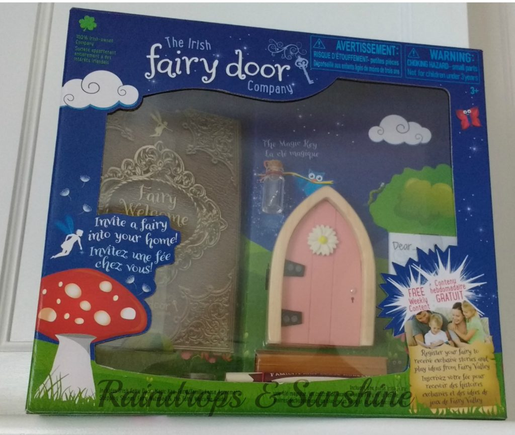 Invite a fairy into your home raindrops and sunshine for My irish fairy door