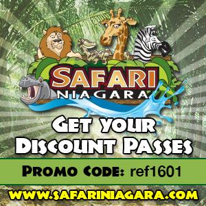 Safari Niagara Online Promo Code ref1601