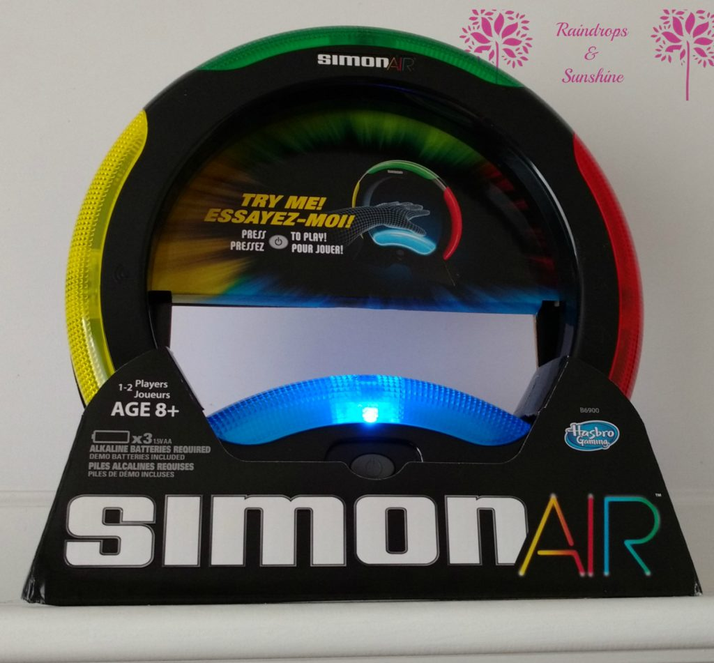 Hasbro Introduces Touch Free Technology to Simon Air #HolidayGiftGuide