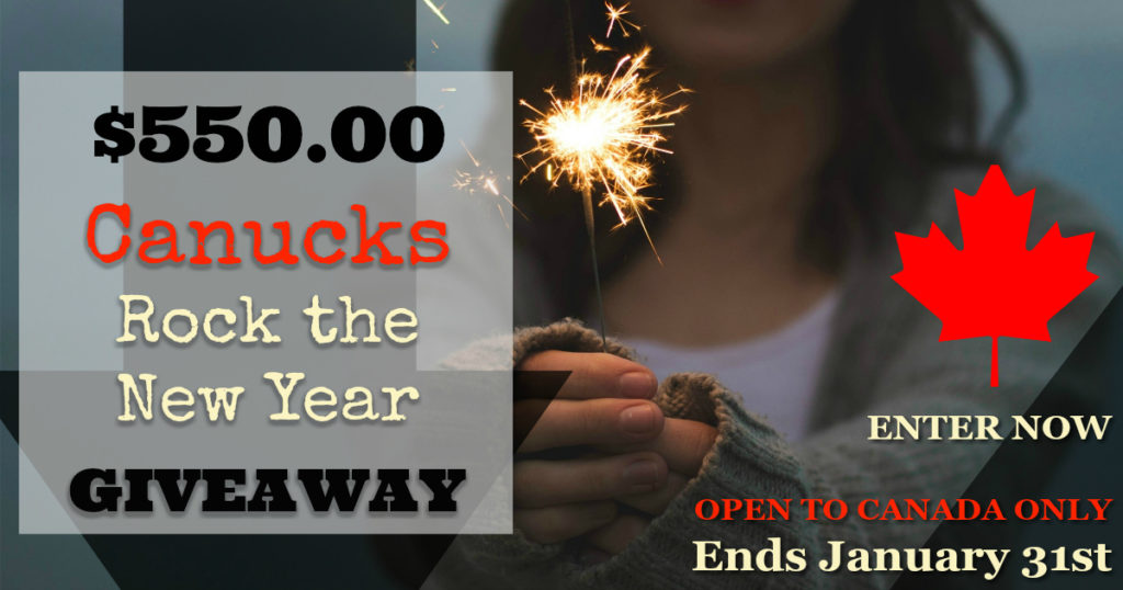 Canucks Rock The New Year Cash #Giveaway