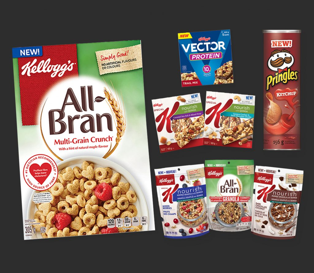 New Delicious Products From Kellogg's Canada