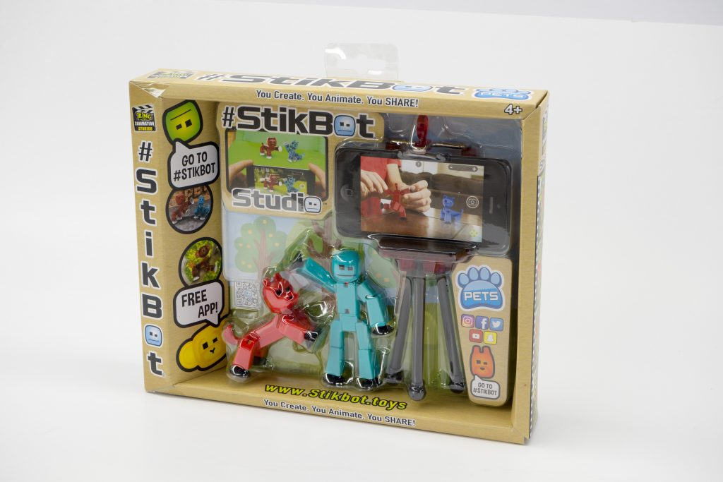 Bring Imagination to Life With Stikbot Pets #HolidayGiftGuide