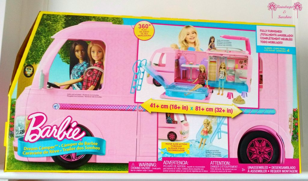 Barbie Dream Camper Sparks their Imagination #HolidayGiftGuide