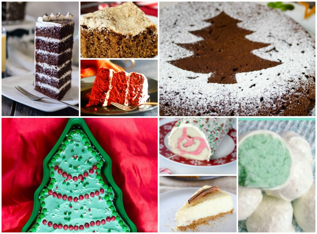 8 Christmas Cakes for the Holidays