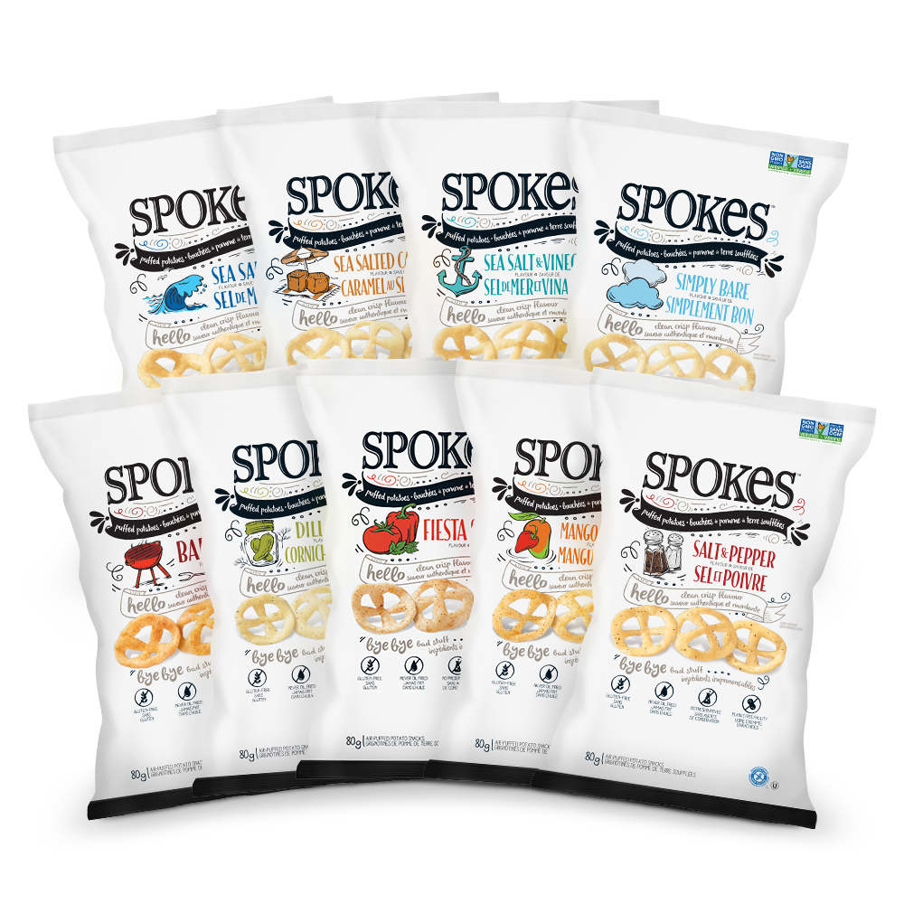 Spokes A Better Snacking Option For You