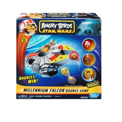 Angry Birds Star Wars Millennium Falcon Bounce Game US Only