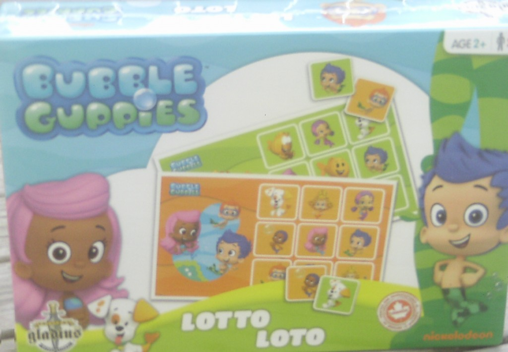 Bubble Guppies Lotto Review