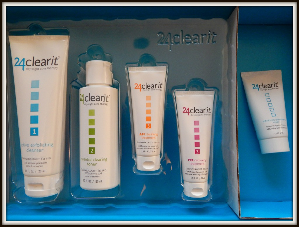 Get Cleaner looking skin With 24clearit Giveaway