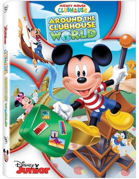 Mickey Mouse Clubhouse:  Around The Clubhouse World Giveaway