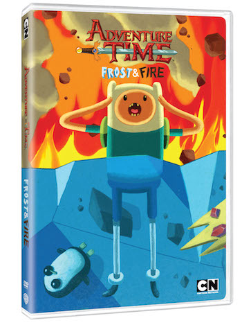 Adventure Time: Frost & Fire DVD Review