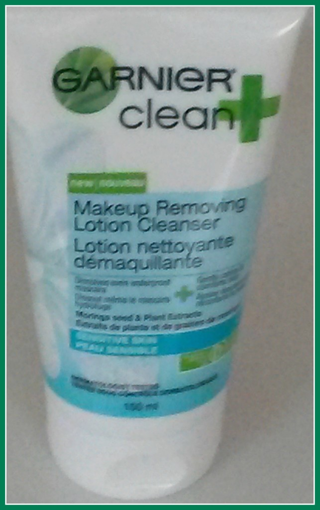Clean+Makeup Removing Cleansing Lotion #GarnierSensitive