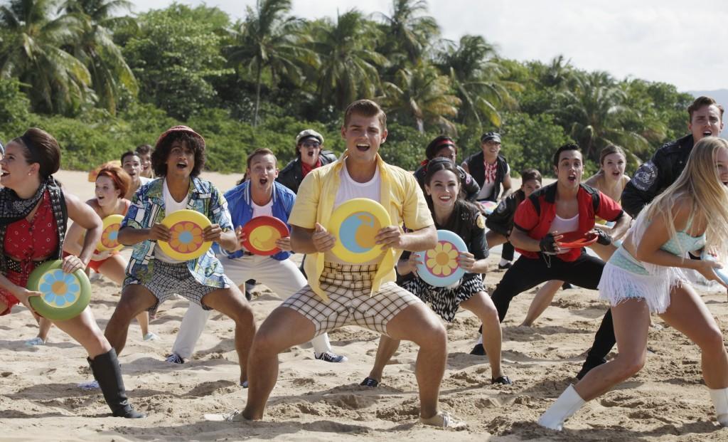 TEEN BEACH 2 - Day 1. (Disney Channel/Francisco Roman).JORDAN FISHER, KENT BOYD, GARRETT CLAYTON, WILL LOFTIS, MOLLEE GRAY