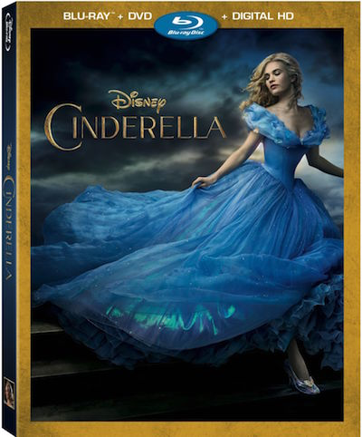 Disney's Cinderella DVD Includes Frozen Fever Short