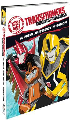 Transformers:Robots In Disguise DVD #Giveaway