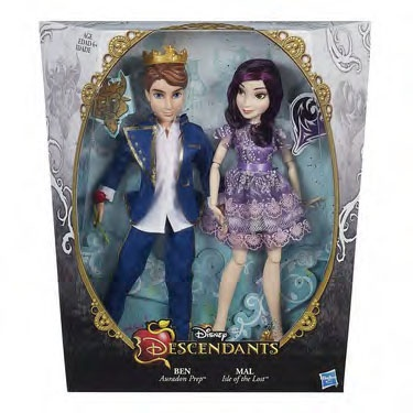 Descendants dolls two pack from Hasbro