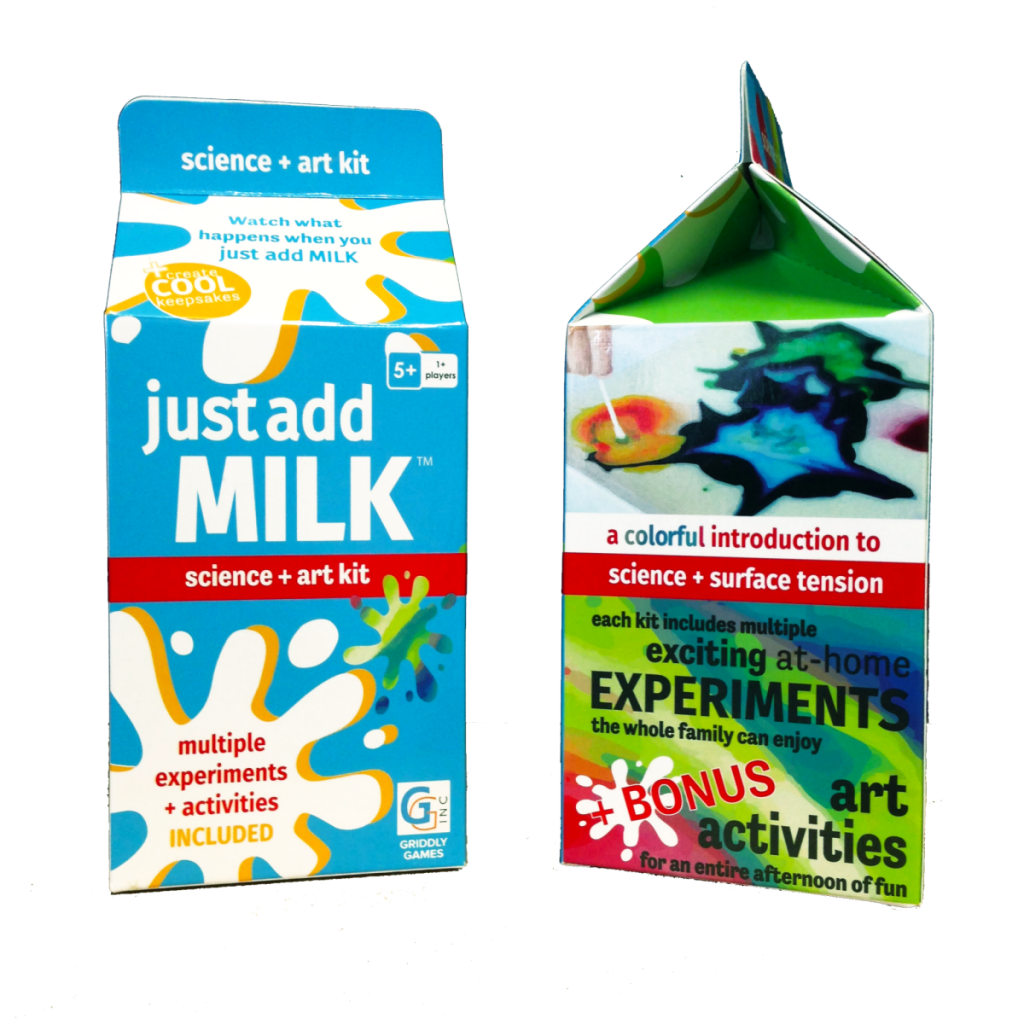Just Add Milk Where Science Meets Art #GiftGuide