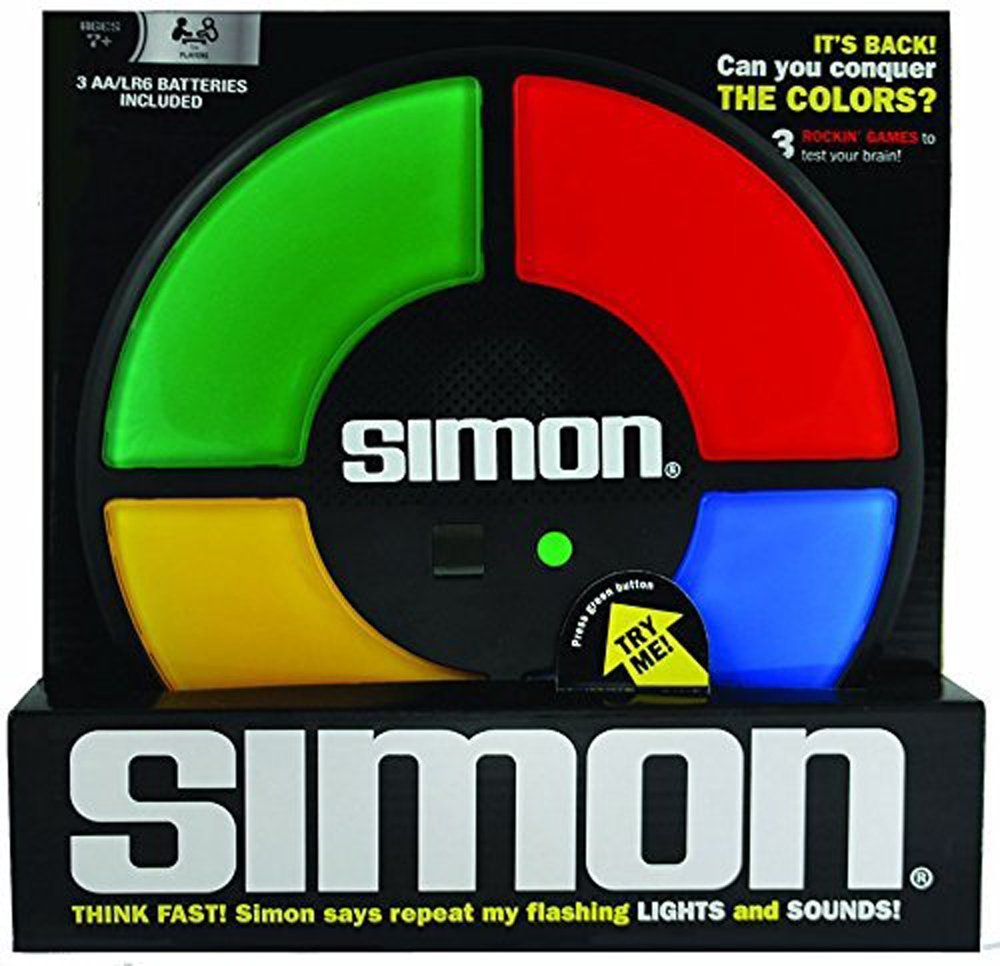 Simon The Classic Memory Game #GiftGuide