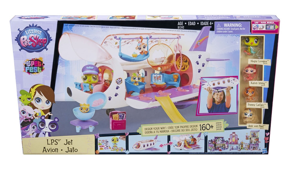 littlest Pet Shop Jet Plane from Hasbro