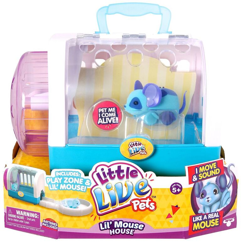 Lil Mice Joins The Little Live Pets Family #GiftGuide