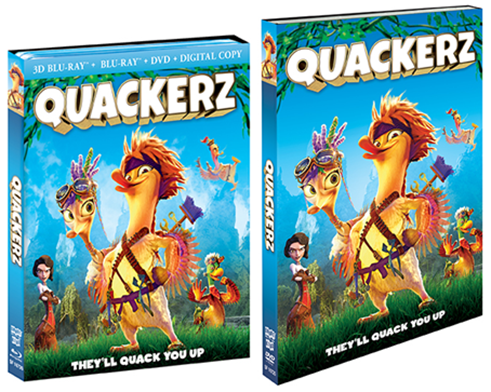 Quackerz Blu-ray/DVD Giveaway
