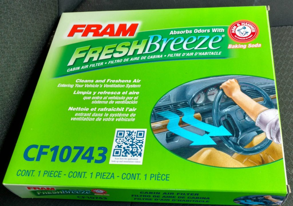 fram-green air filter