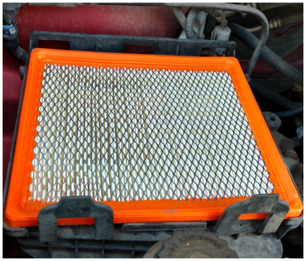 fram-orange air filter