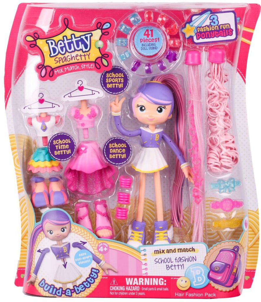 School Fashion Betty Spaghetty #HolidayGiftGuide