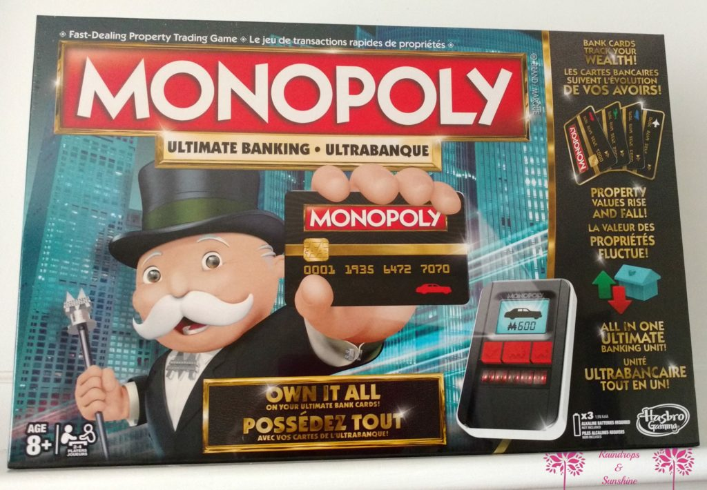 Monopoly Ultimate Banking #HolidayGiftGuide