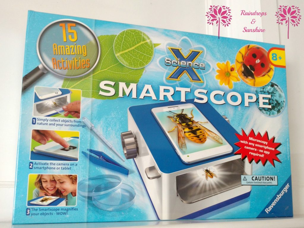 Ravensburger ScienceX Smartscope #HolidayGiftGuide