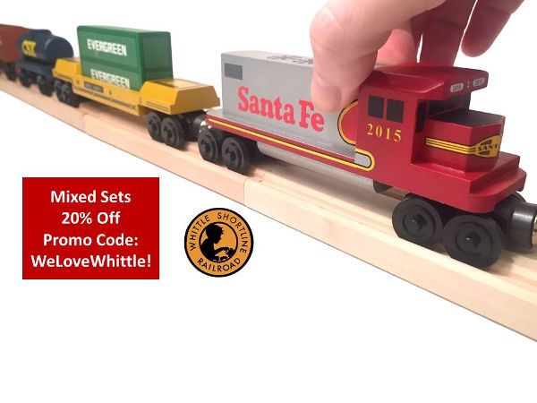 Whittle Shortline Railroad adds 20 trains for 20 years #whittleshortlinerr