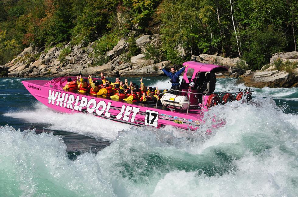 Feel the Adrenaline of a Whirlpool Jet Boat #NiagaraFalls