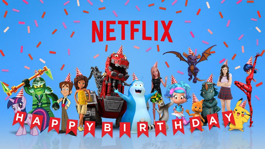 Celebrate Their Birthday With Netflix