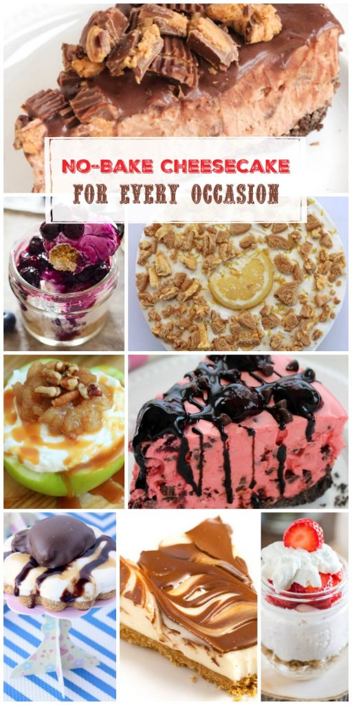 11 No-Bake Cheesecakes for Every Occasion