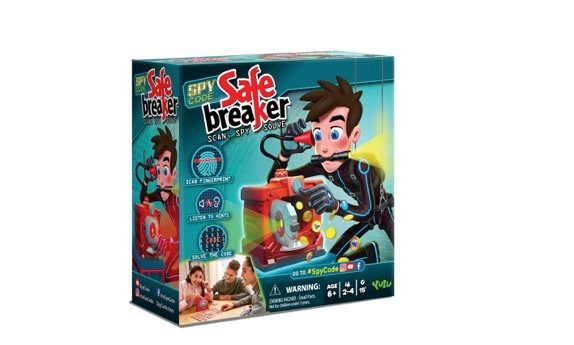 Safe Breaker From YULU Toys #HolidayGiftGuide