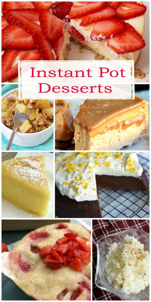 8 Instant Pot Dessert Recipes